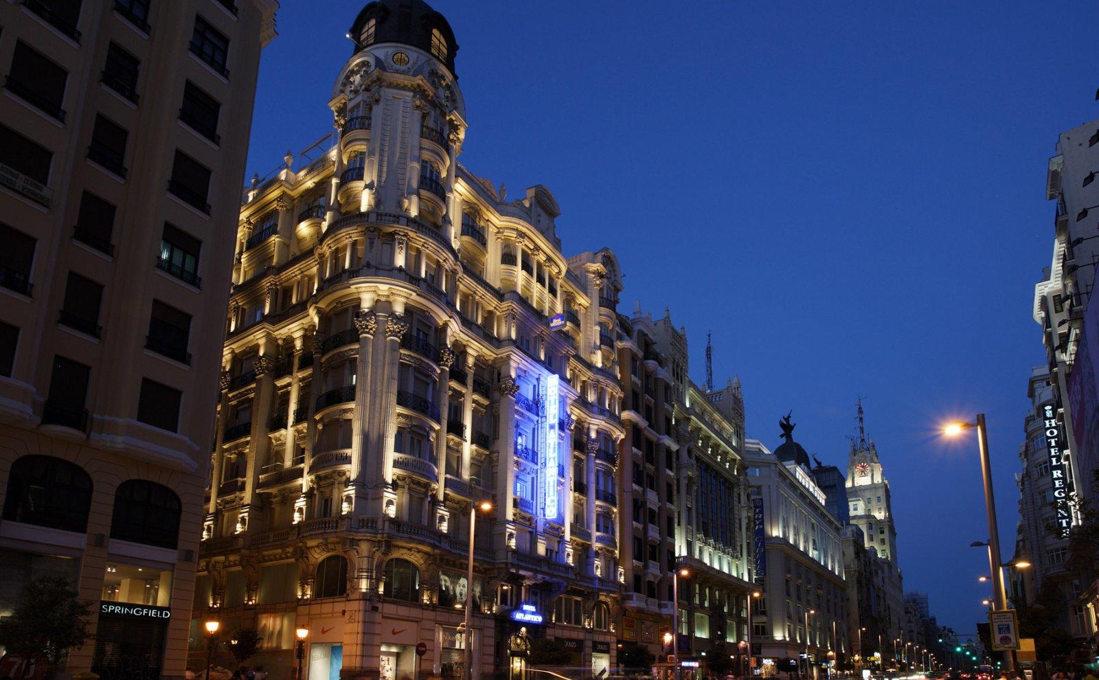 Hotel De Lujo En Gran Via Hotel Atlantico Madrid