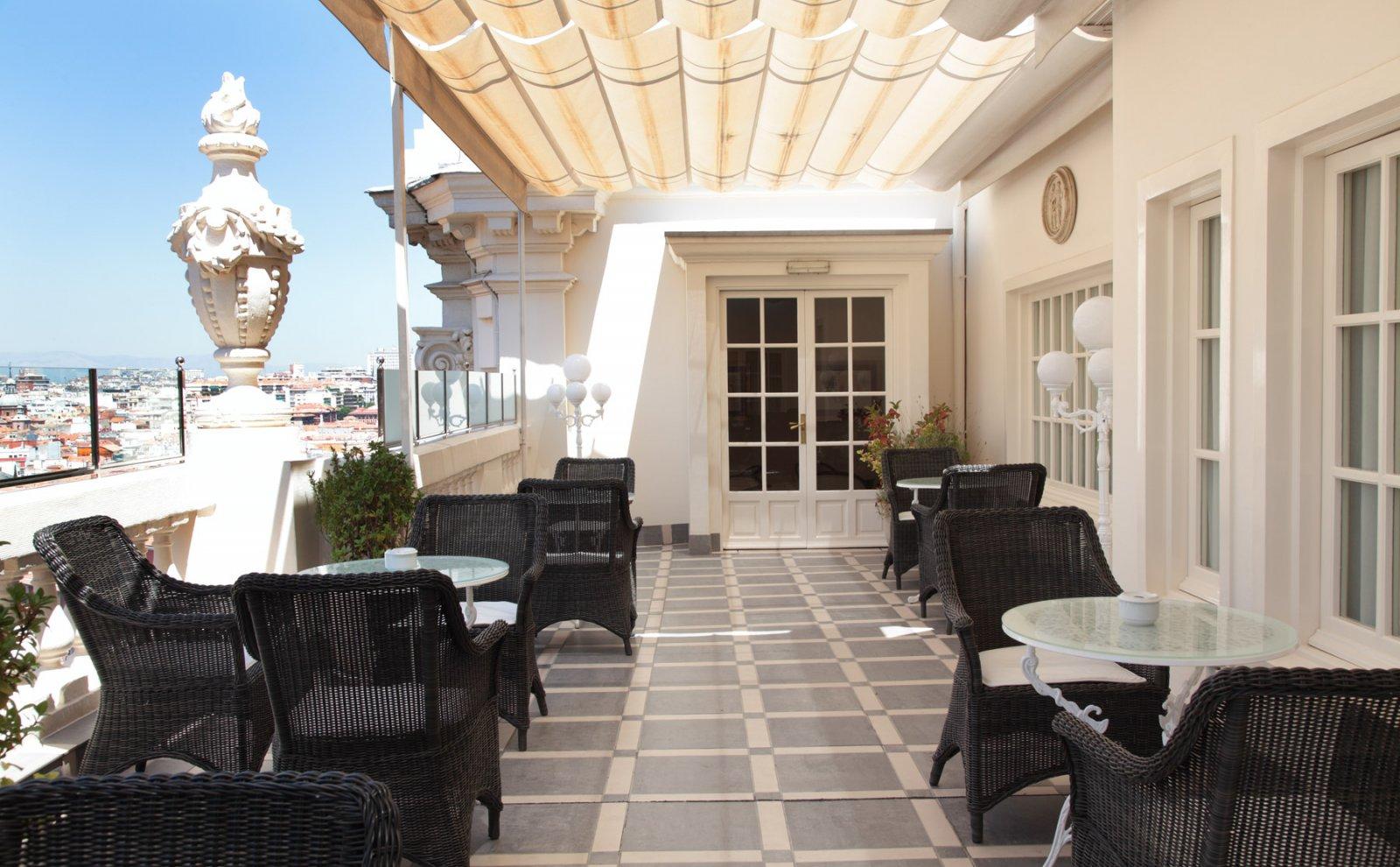 Terraze Hotel Atlantico Madrid 04