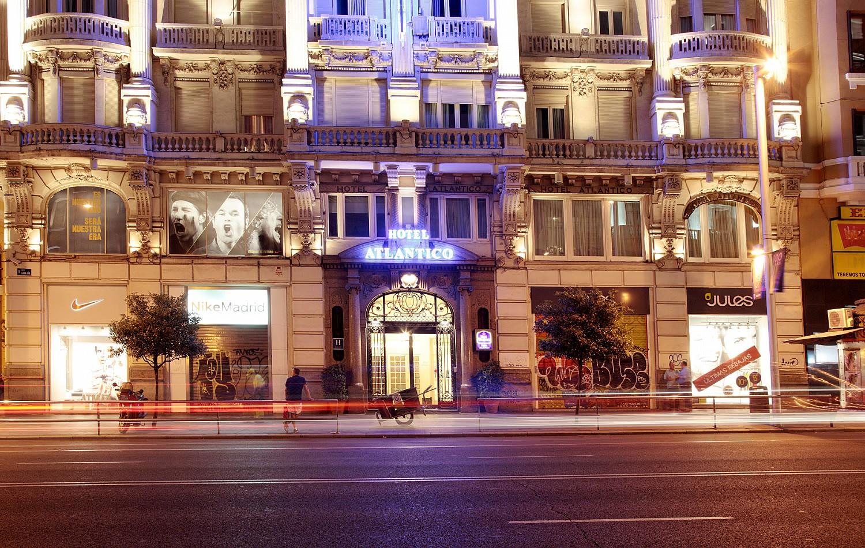 6ae1fb6fc5973 The Building  Hotel Atlantico Madrid